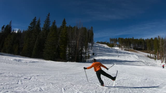 skiing, freestyle skiing - freestyle skiing stock videos & royalty-free footage