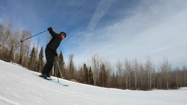 skiing, freestyle skiing - freestyleskidåkning bildbanksvideor och videomaterial från bakom kulisserna