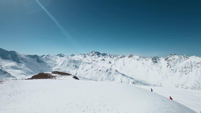 POV: skiën in Ischgl