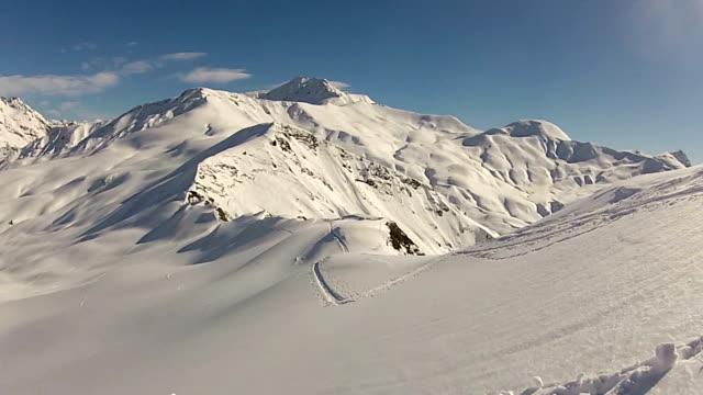 sci - sci sci e snowboard video stock e b–roll