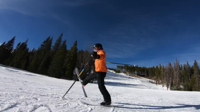 skiing - freestyleskidåkning bildbanksvideor och videomaterial från bakom kulisserna