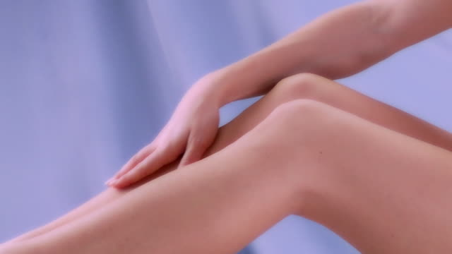 skin care - human leg stock videos & royalty-free footage