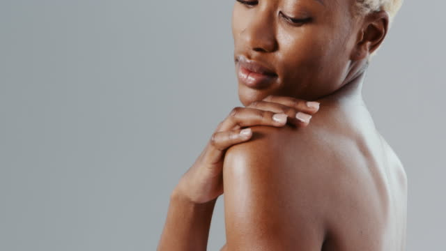 skin fit for a goddess - african american ethnicity stock videos & royalty-free footage