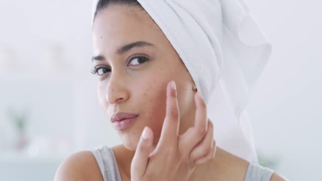 skincare is important to me - body care stock videos & royalty-free footage