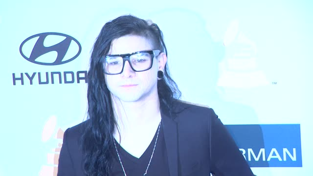 Skrillex at Clive Davis And The Recording Academy's 2012 PreGRAMMY Gala And Salute To Industry Icons Honoring Richard Branson on 2/11/12 in Beverly...