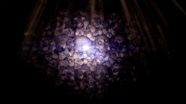 Skull lights textures