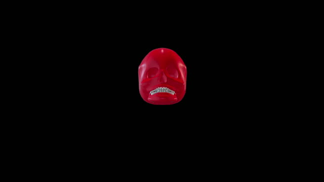 vídeos de stock, filmes e b-roll de crânio de comer o vermelho - telencéfalo