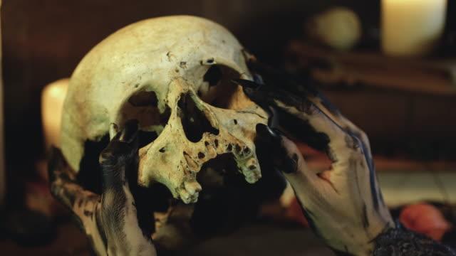 vidéos et rushes de crâne - horreur
