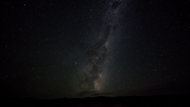 t/l ws sky ant night and rising sun / southern hemisphere, cromwell, central otago, new zealand - horizon over land stock videos & royalty-free footage