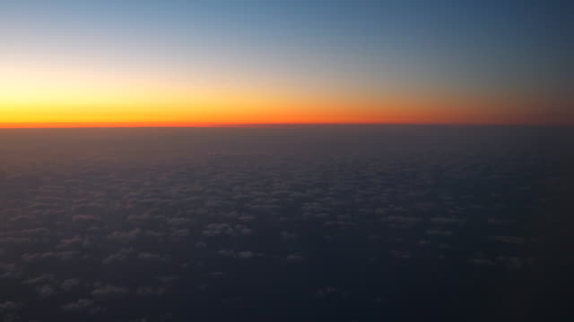 Sky at Dusk Aerial view