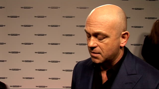 red carpet interviews stephen graham steve buscemi terence winters posing for photocall ross kemp interview sot on loving anything to do with... - steve buscemi stock videos & royalty-free footage