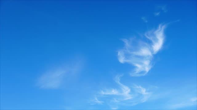 空雲移動タイムラプス。 - sky点の映像素材/bロール