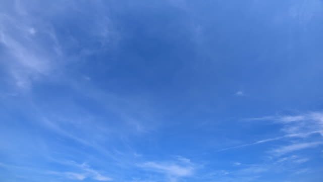 sky clouds time lapse - blue stock videos & royalty-free footage