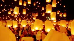 Sky Lantern Traditional Festival