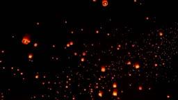 Sky Lantern Traditional Festival.