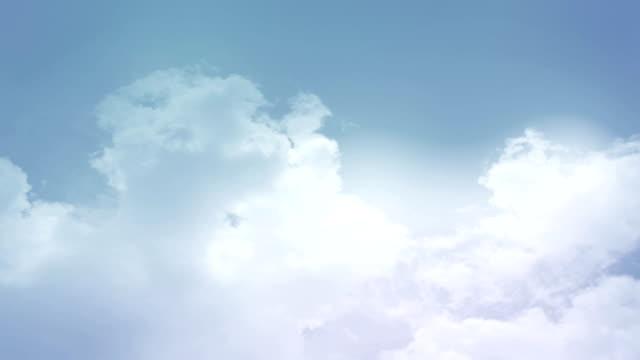 Sky Soft Blue Background