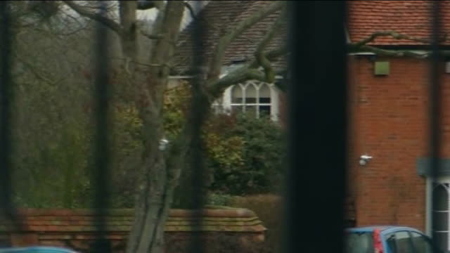 sky sports sack andy gray over sexist comments warwickshire ext general view of andy gray's house with entrance gates in foreground close shot of... - intercom stock videos and b-roll footage