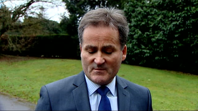 sky sports sexism row / richard keys resigns keys statement england surrey chobham ext home of former sky sports presenter richard keys / private... - richard i of england stock videos and b-roll footage