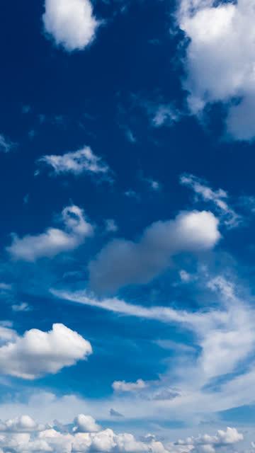 sky timelapse in vertical - vertical stock videos & royalty-free footage