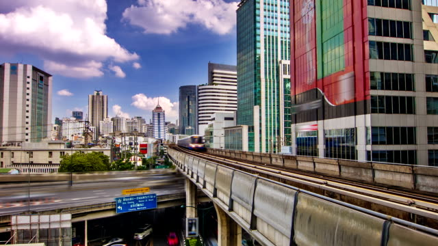 sky train - elevated train stock videos and b-roll footage