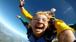 Skydive Tandem Selfie funny