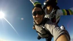 Skydive Tandem Selfie