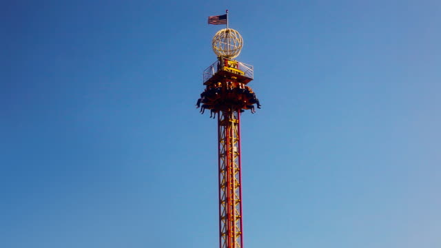 Skydrop Ride at Carnival Midway