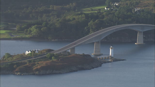 skye bridge - scotland stock videos & royalty-free footage