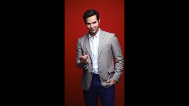 Skylar Astin of EPIX 'Graves' poses for a gif during the 2017 Summer Television Critics Association Press Tour at The Beverly Hilton Hotel on July 25...