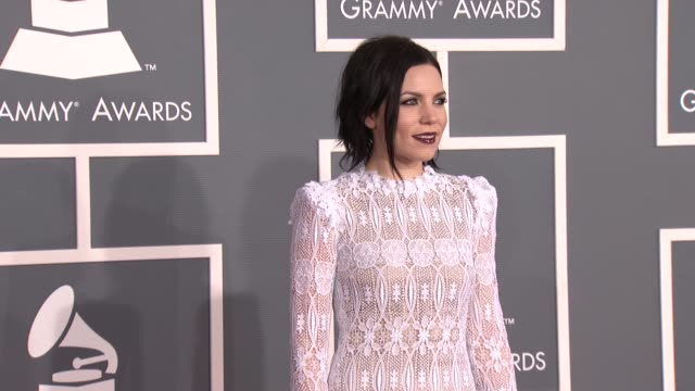 Skylar Grey at 54th Annual GRAMMY Awards Arrivals on 2/12/12 in Los Angeles CA