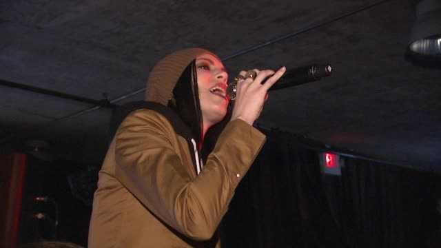 skylar grey at tmobile presents google music at tao day 2 in park city utah on 1/21/2012 - google brand name stock videos and b-roll footage