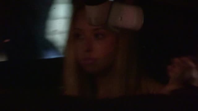 skyler shaye arrives at chateau marmont in west hollywood 07/09/12 - skyler shaye stock videos & royalty-free footage