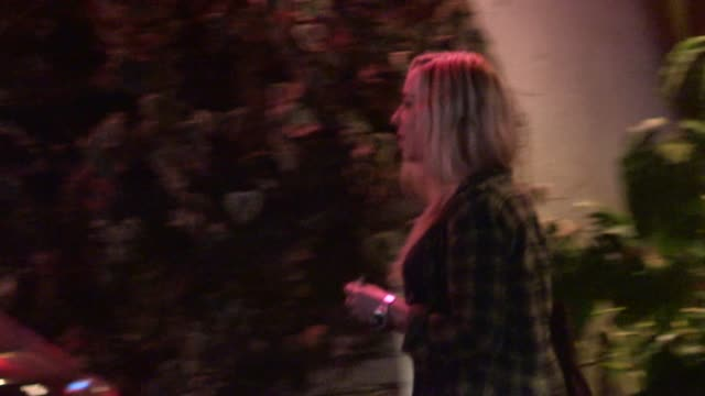 skyler shaye departing chateau marmont in west hollywood in celebrity sightings in los angeles, - skyler shaye stock videos & royalty-free footage