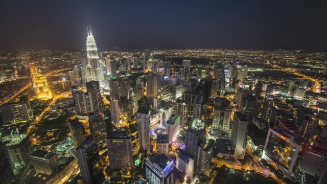 WS T/L Skyline at dusk / Kuala Lumpur, Selangor, Malaysia