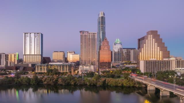Skyline Austin, Texas at twilight