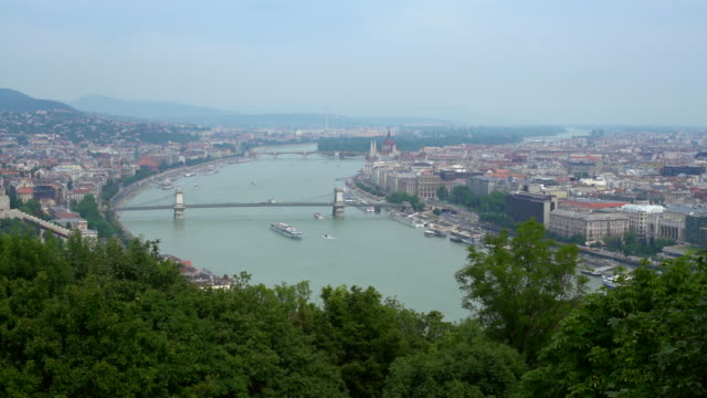 skyline budapest, realtime - traditionally hungarian stock videos & royalty-free footage