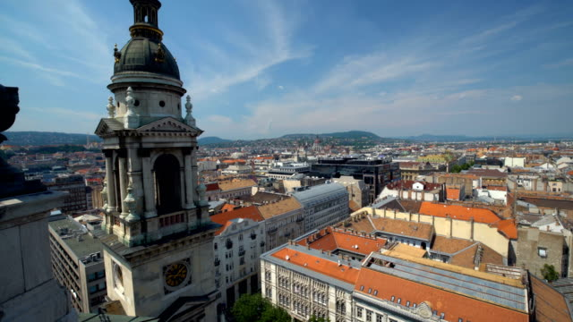 skyline budapest - kirche stock videos and b-roll footage