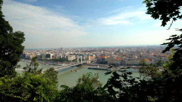 skyline budapest - budapest stock videos & royalty-free footage