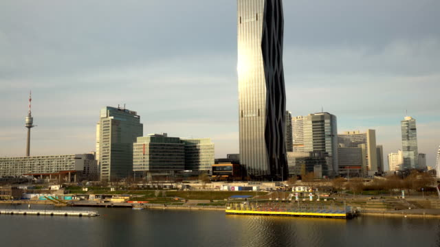 Skyline-Donau-City in Wien