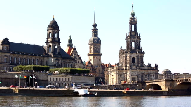 skyline dresden - hofkirche stock videos & royalty-free footage