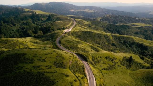skyline drive aerial in san jose california - san jose california stock videos & royalty-free footage