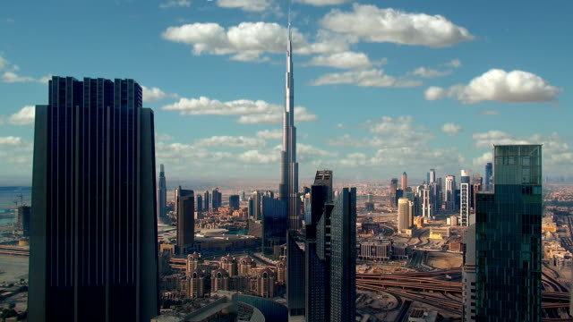 skyline - dubai, uae - dubai stock videos & royalty-free footage