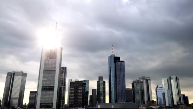 Skyline Frankfurt Geschäftsviertel