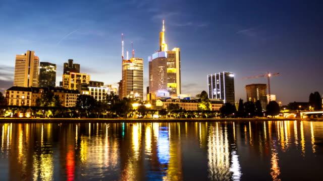 Skyline Frankfurt, Time Lapse