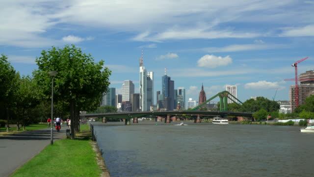 Skyline Frankfurt with River Main