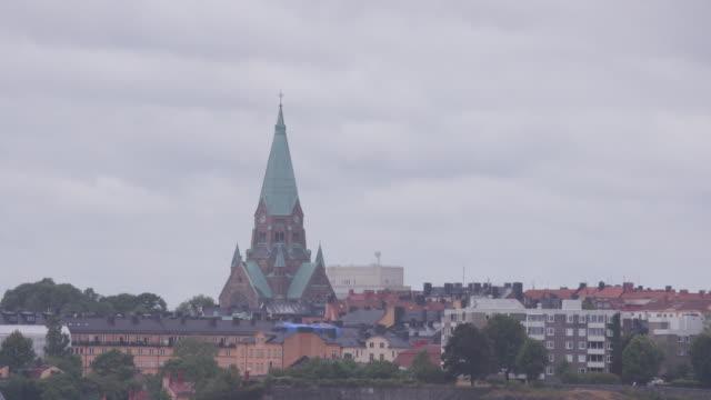Skyline gvs of Stockholm