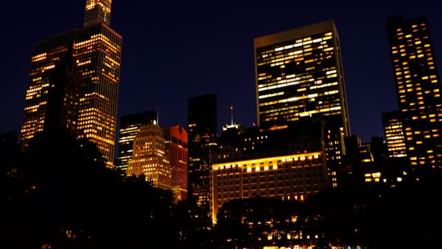 Skyline Manhattan from Central Park