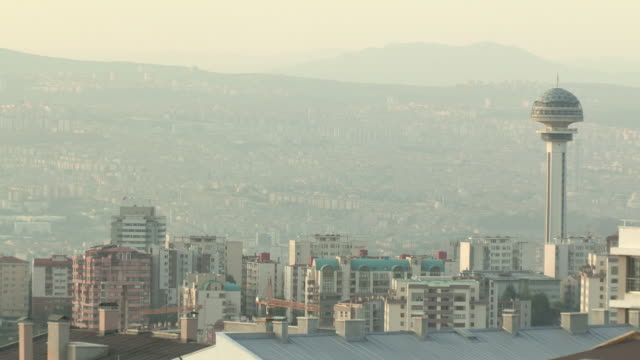 Skyline of Ankara, Turkey