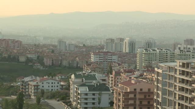 skyline of ankara, turkey - ankara stock videos and b-roll footage