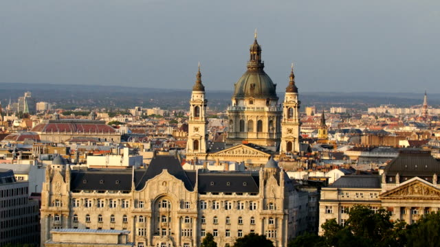 Skyline of Budapest ,Hungarian Parliament Building